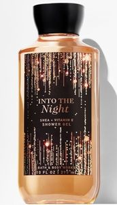 Bath and body works into the night set